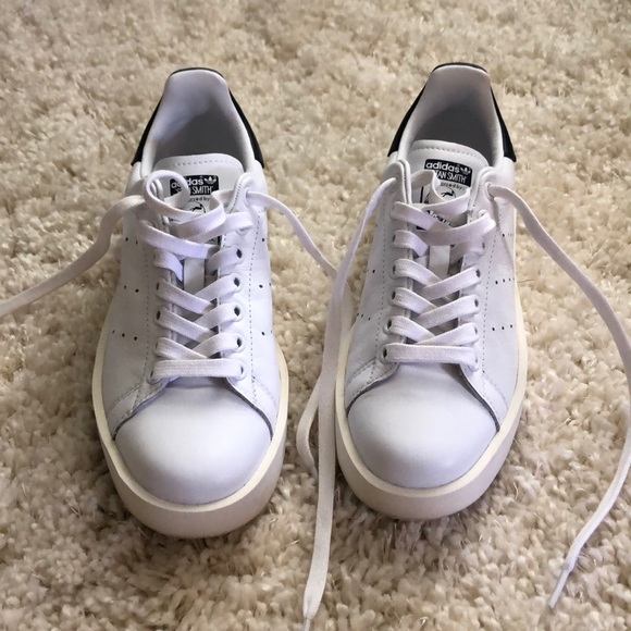 reputable site 12283 f7214 Adidas Stan Smith thick sole shoes